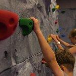 Traversing Wall session