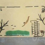 Pompei grafitti i Salerno.