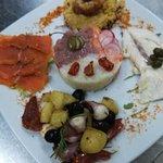 Tartar di salmone e tartar di 👍 baccalà