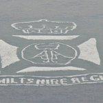 badge of Wiltshire regiment