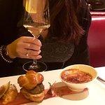 Tris di foie gras