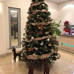 Christmas time in the restaurant of Valamar Diamant Hotel