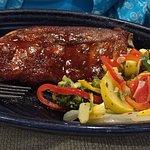 Baby-Back Ribs /w steamed veggies