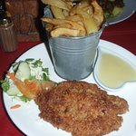 butterfish and chips