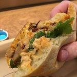 Korean Pork Shoulder Sandwich