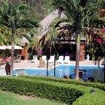 The pool at Hotel Leyenda