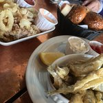 Crispy calamari and smelts!