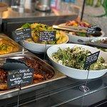 Salmon/Chicken & Fresh Salads