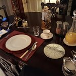 Breakfast at the Russell House was a true occasion and pure luxury.