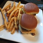 sliders and fries
