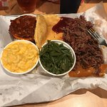 Brisket, Mac and cheese and bakes beans!