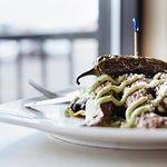 Steak and Avocado Tostada