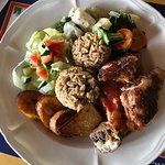 Caribbean eats by Blue Crab, Tobago