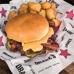 Beer Cheese & Bacon Burger