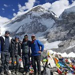 We made it! Everest Basecamp Yoga Trek