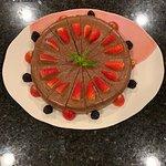 Gluten-Free Chocolate Cheesecake...so good!