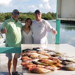 Catching fish with Capt. Paulie