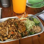 Pad thai from the cooking class
