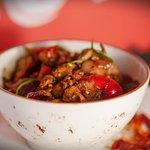 Spicy cumin beef