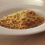 Espaguetis a la boloñesa.