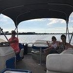 Family enjoying the cruise