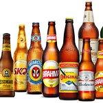 Ampla variedade de cervejas e cervejas especiais