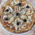 Sea food pizza🍕