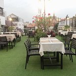 Our rooftop restaurant &bar with wat lanka view.
