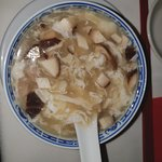 Mushroom with Chicken soup. Really loved this soup.