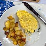My breakfast omelet
