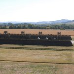 Reproduction of Roman temporary fort