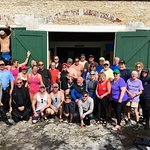 Most of our group at Scubaqua.
