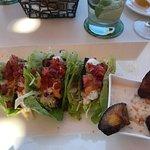 Blackened fish gluten free tacos
