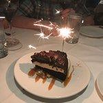 Triple Layer Caramel Chocolate Layer Cake