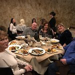 Birthday dinner with the Cavalli's!