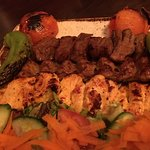 Chicken & lamb shared platter for 2 people