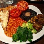 Vegan breakfast 2019 £7.50