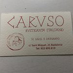 Photo of Caruso