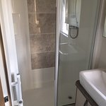 Shower in caravan