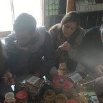 Two couples from Israel... Brought spices, curries and teas here....