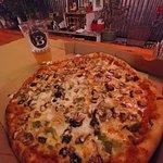 "14"" Dirty Hippie pizza"