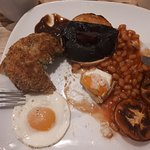 Scrummy Veggie breakfast...so yummy had to start eating before pics were taken....