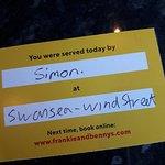 ภาพถ่ายของ Frankie & Bennys New York Italian Restaurant & Bar - Swansea
