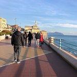 The walk along the promenade from Genoa to Boccadasse