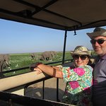 Game viewing pic in Amboseli National Park