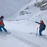 Deep Powder Off Piste Skiing with Rèmi and Stéphane - the best instructors and guides ever met!