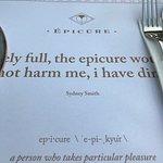 Photo de Epicure
