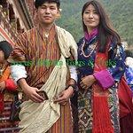 Access Bhutan Staff at Thimphu Tshechu festival