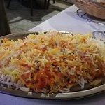 Pilaf rice.