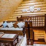 """Баня на дровах """"Греция"""", комната отдыха на 2 этаже"""